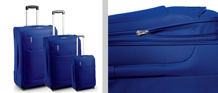 Carlton Oasis expandable 3 piece luggage